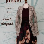 Buying vintage clothing can be really tricky regarding the right fit. When I bought a jacket that did not fit me at all, I decided to alter it and make this bulky jacket look slim and elegant. In this post you can read how I sew-in the vintage jacket and created a new unique piece I really like.